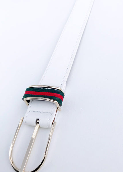 GIGI BELT - WHITE