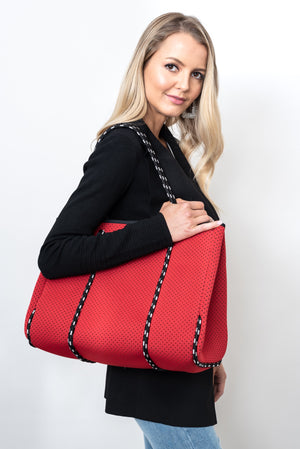 ROZA NEOPRENE BAG - RED