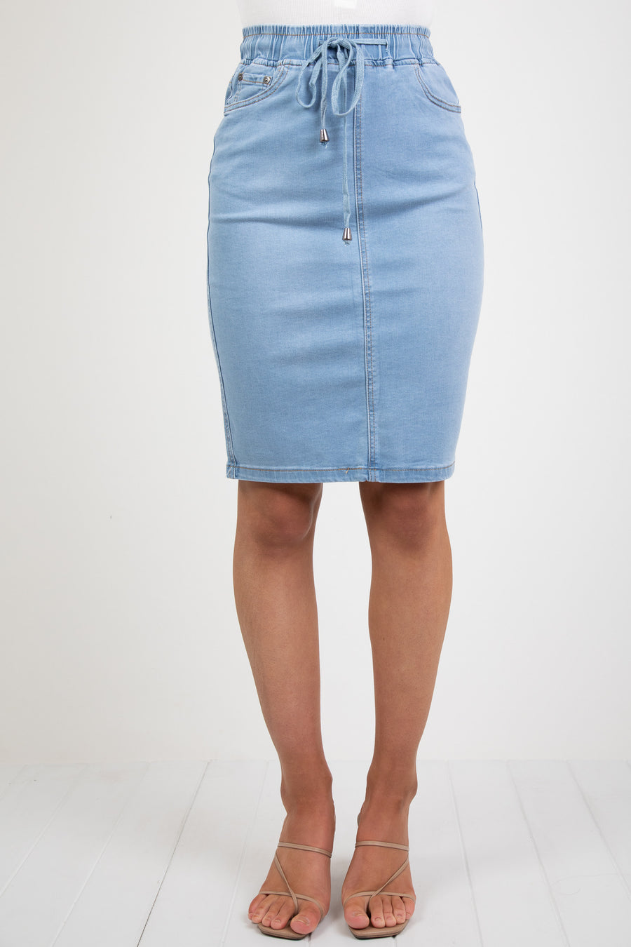 BILLY SKIRT - LIGHT BLUE