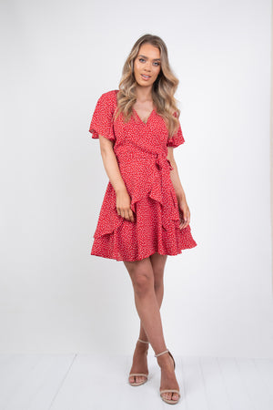 BONNIE DRESS - RED