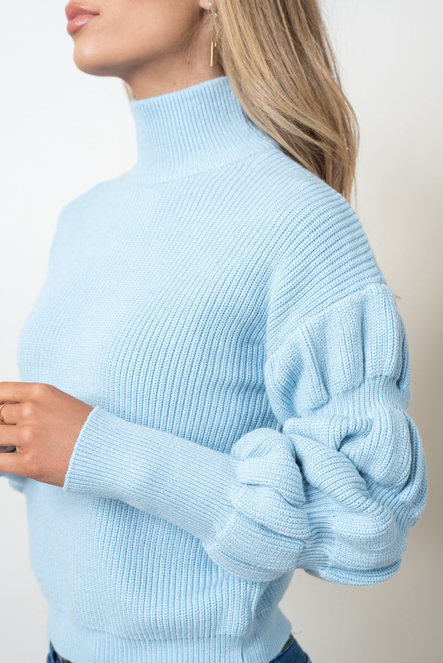 WENDY KNIT - BABY BLUE