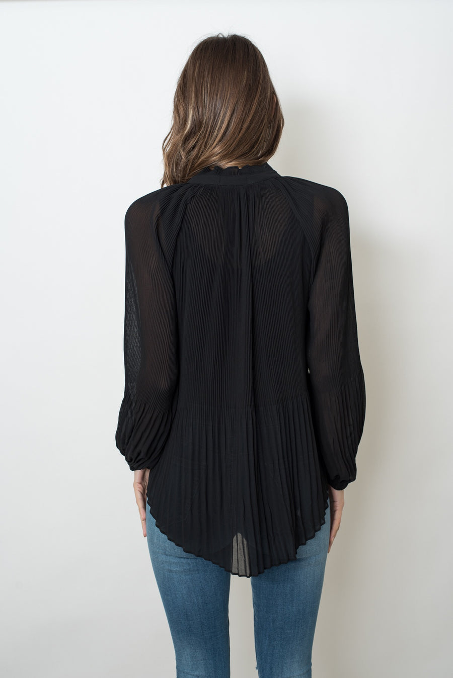MADELINE TOP - BLACK