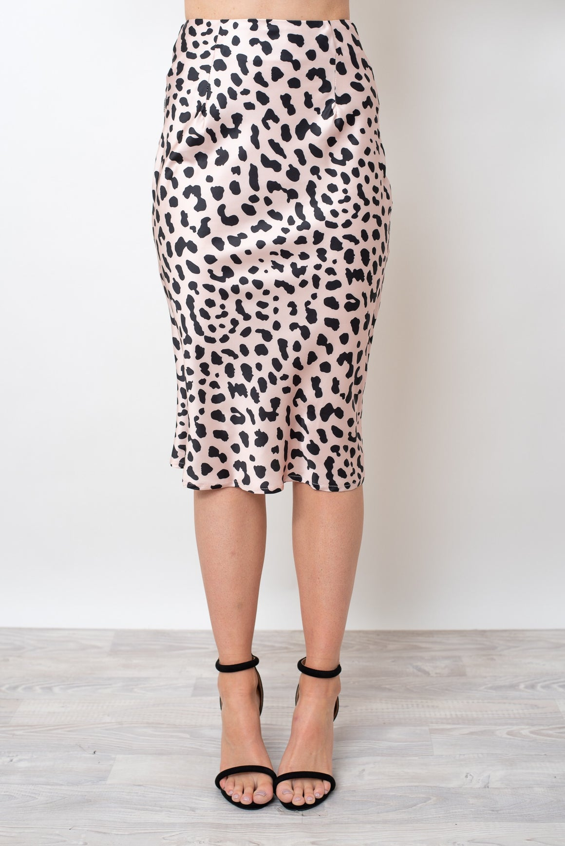 LOVE ME LEOPARD SKIRT