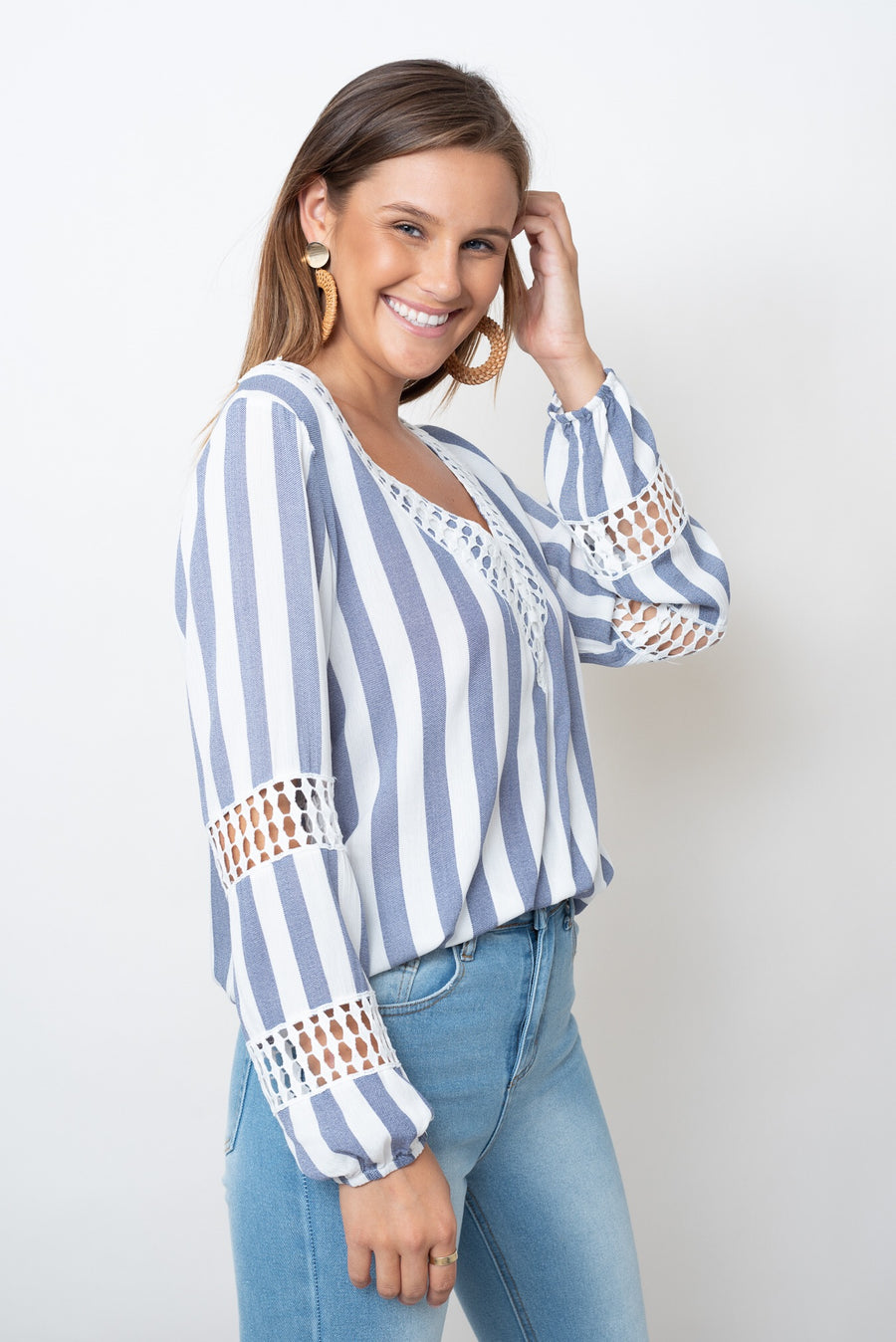 LUCIA TOP - STRIPE