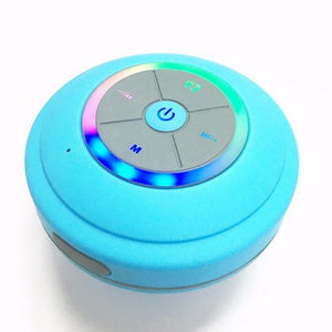 Bathroom fan w/bluetooth speaker, light and blue nightlight.
