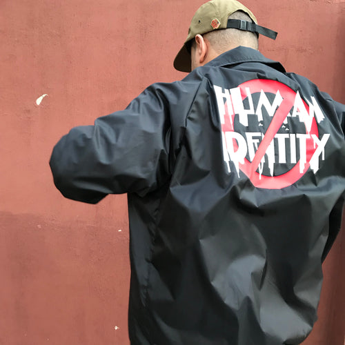ANTI-HUMAN IDENTITY Coach Jacket