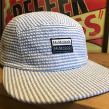 The Box Logo Seersucker Camper Hat