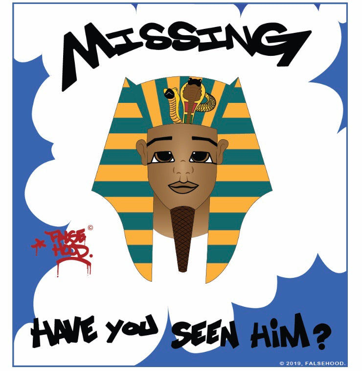 MISSING. Have You Seen Him?