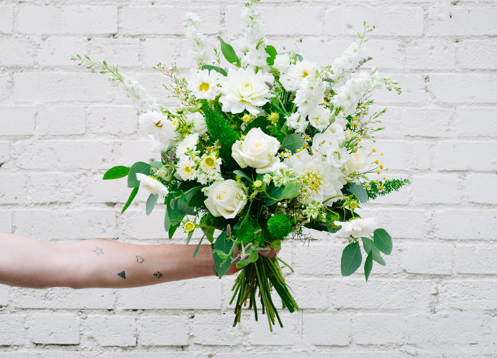 A Whites Bouquet