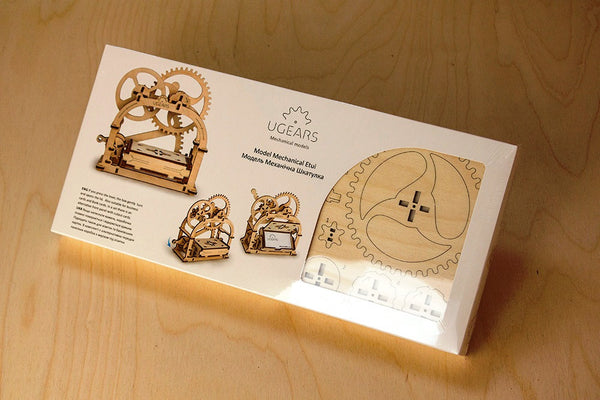 Treasure Box - build your own working model by UGears - UGears - 2
