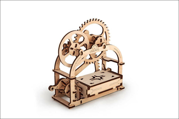 Treasure Box - build your own working model by UGears - UGears - 3
