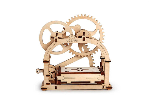 Treasure Box - build your own working model by UGears - UGears - 5