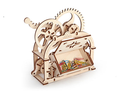 Treasure Box - build your own working model by UGears - UGears - 1