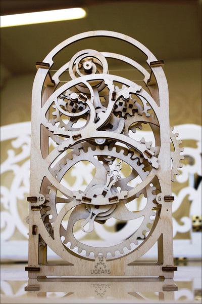 Chronograph - build your own working model by UGears - UGears - 4