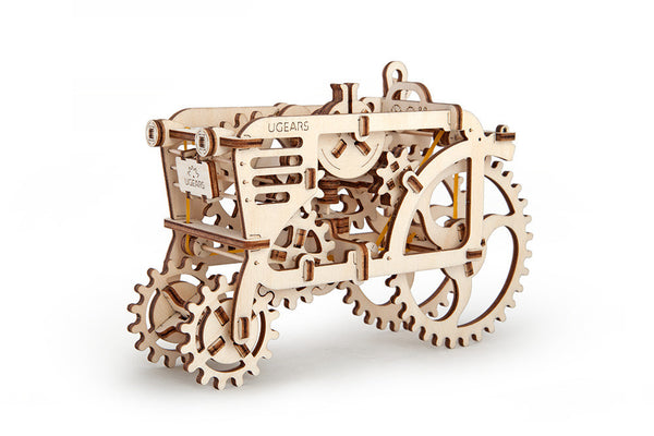 Tractor - build your own moving model by UGears - UGears - 1