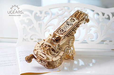 Hurdy-Gurdy - build your own fully fledged musical instrument by UGears