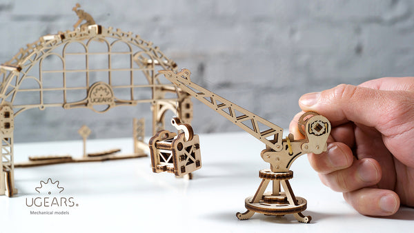 Rail Manipulator - build your own mechanical town by UGears