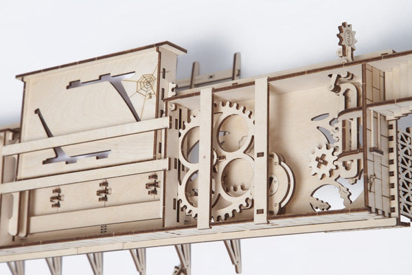 Railway Platform - build your own working model by UGears - UGears - 9