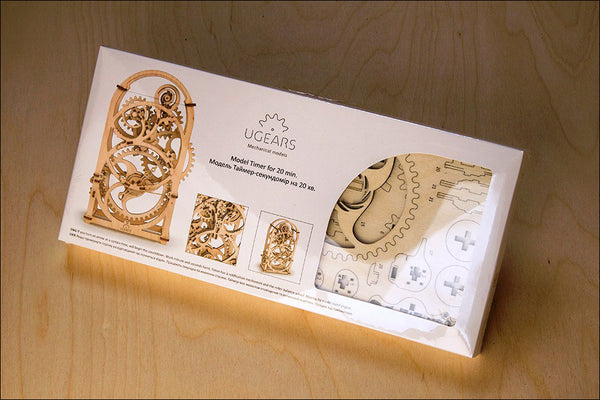 Chronograph - build your own working model by UGears - UGears - 2