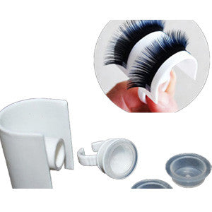 Strip Eyelash & Adhesive Holder Ring