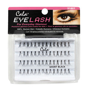Cala Flare Short Lashes black