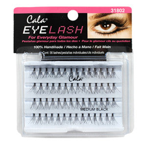 Cala Flare Medium Lashes Black