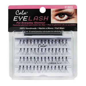 Cala Flare Long Lashes Black
