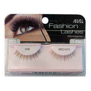 Ardell Fashion Strip Lash 108 Brown