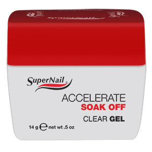 Accelerate Soak Off Clear Gel 14ml