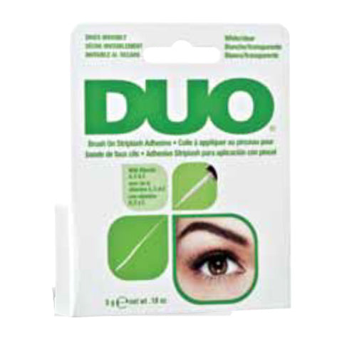 DUO Brush On Lash Adhesive Clear For Strip Lashes 5g
