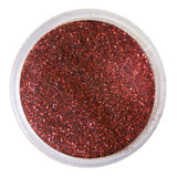 Supernail Robbing Rubies Red Glitter Powder 3.5g