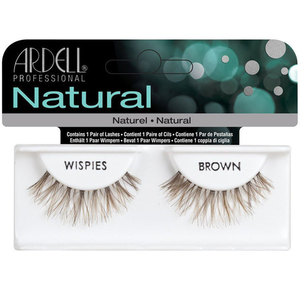 Ardell Invisibands Strip Lashes Wispies Brown