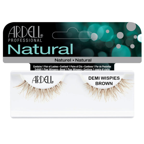 Ardell Invisibands Strip Lashes Demi Wispies Brown
