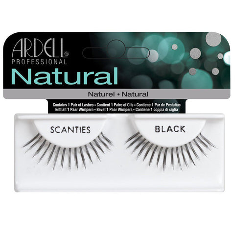 Ardell Invisibands Fashion Strip Lash Scanties Black