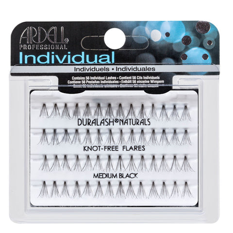 Ardell Individual EyeLashes Natural Knot Free Medium Black