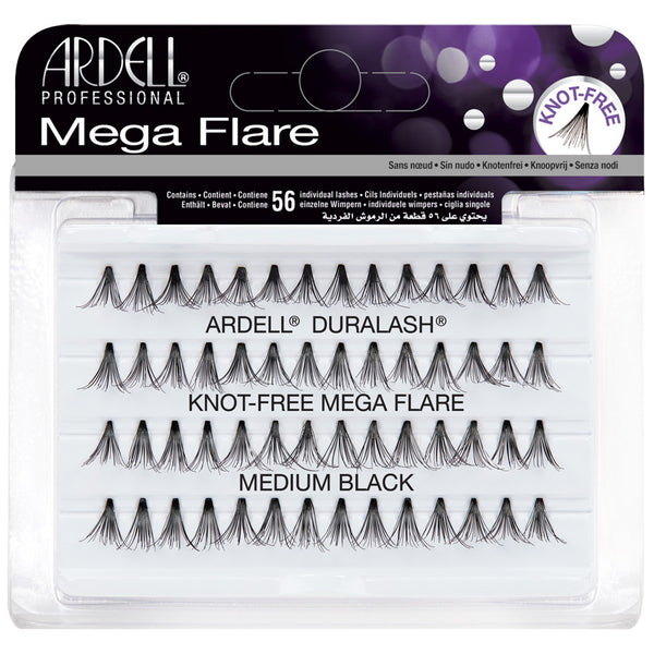 Ardell Individual Eyelashes Mega Flare Individuals Medium Black