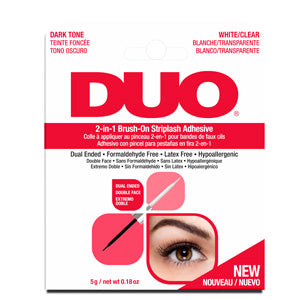 DUO Quick Set Lash Adhesive Clear For Strip Lashes 5g