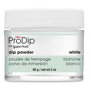 White ProDip Acrylic Powder 56g for white french acrylic