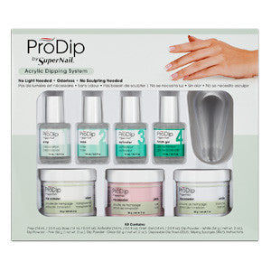 ProDip Acrylic System Kit contain everything you need to perform ProDip acrylic treatments