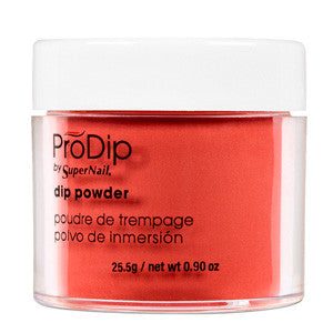 Fiery Red Coral Red ProDip Acrylic Powder 25.5 g