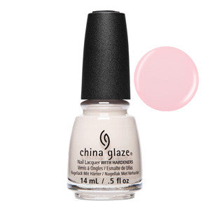 We Run This Beach China Glaze Pale Pink Nail Varnish