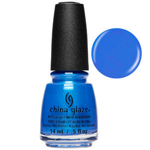 Crushin On Blue China Glaze Nail Varnish