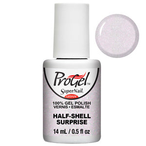 Half Shell Surprise ProGel UV LED Gel Polish 14ml in opalescent pink shimmer