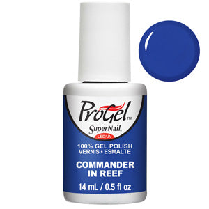 Commander In Reef ProGel UV LED Gel Polish 14ml in Blue Creme Shade