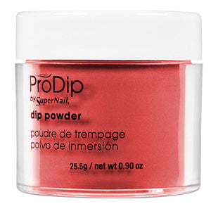 Supernail Alluring Red ProDip Powder 25.5 g