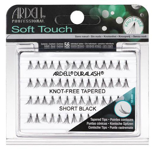 780a37ffac1 Ardell Pro Soft Touch Eyelashes Knot Free Short individual eyelashes with  finely tapered tips
