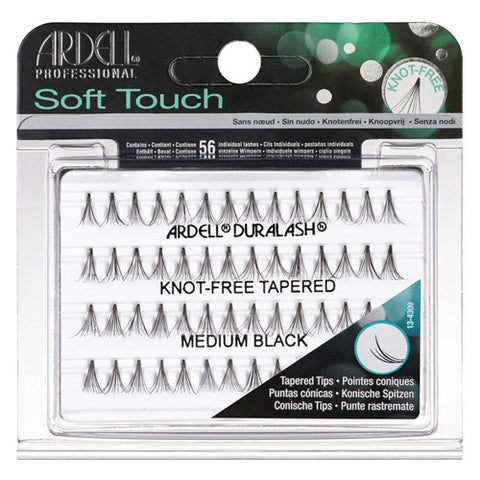 Ardell Pro Soft Touch Eyelashes Knot Free Medium individual eyelashes with finely tapered tips