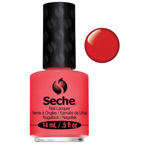 Inspiration Seche One Coat Bright Coral Nail Varnish
