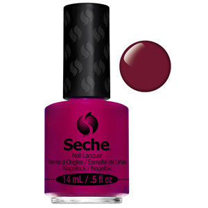 Irresistible Seche One Coat Deep Red Nail Varnish
