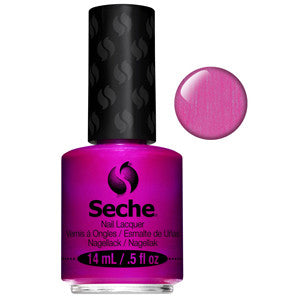 Magnifique Seche One Coat Iridescent Pink Purple Nail Varnish